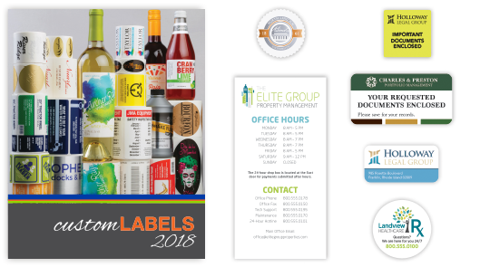 labels works catalog for wholesale printing from navitor