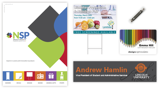 sign badges catalog for wholesale printing from navitor