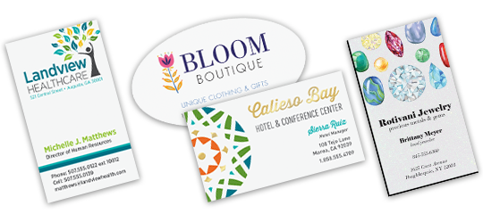 Move Beyond The Traditional With Specialty Business Cards Unique Stocks And Formats Pair Full Color Print Heavyweight Synthetic