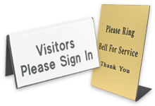 Wholesale Printing Custom Online Print Services Navitor - Table tent signs