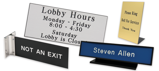 Wholesale Signs - Engraved from Navitor